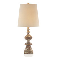 John Richard Portable 1 Light Table Lamp in Cream JRL-8625