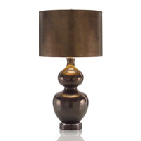 John Richard Portable 1 Light Table Lamp in Bronze JRL-8626 photo thumbnail