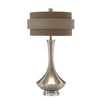 John Richard JRL-8642 Portable 31 inch 60 watt Sepia Table Lamp Portable Light