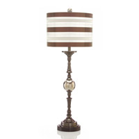 John Richard Portable 1 Light Buffet Lamp in Stucco JRL-8643