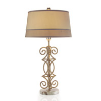 John Richard Symmetrical Shimmer 1 Light Table Lamp JRL-8801