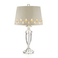 John Richard Crystal Urn 1 Light Table Lamp JRL-8862