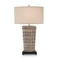 John Richard Geometric 1 Light Table Lamp JRL-8978