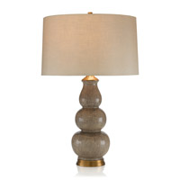 Shagreen Gourd 31 inch 150 watt Table Lamp Portable Light