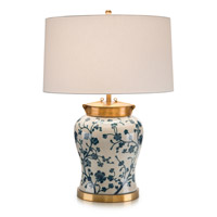 Blue Dogwood 29 inch 150 watt Table Lamp Portable Light