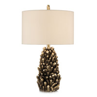 Golden Crystals 26 inch 150 watt Accent Lamp Portable Light