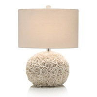 John Richard Nickel Table Lamps