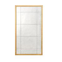 John Richard JRM-0109 Rectangular 72 X 40 inch Gilded Gold Wall Mirror
