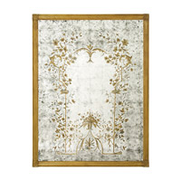 John Richard Rectangular Mirror in Gilded Gold JRM-0208