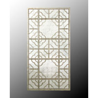 John Richard Rectangular Mirror in Gilded Silver JRM-0219