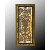 John Richard Rectangle Mirror in Hand-Painted  JRM-0243
