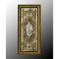 John Richard Rectangular Mirror in Hand-Painted JRM-0244