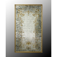 Rectangular 84 X 48 inch Hand-Painted Wall Mirror Home Decor