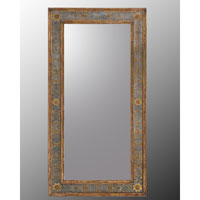 John Richard Rectangular Mirror in Hand-Painted JRM-0261