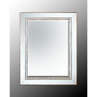John Richard Rectangular Mirror in Gilded Silver JRM-0297