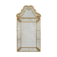 Diverse Profiles/Shapes 69 X 37 inch Gilded Gold Wall Mirror Home Decor