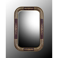 John Richard Rectangular Mirror in Hand-Painted JRM-0329
