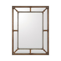 Rectangular 49 X 37 inch Gilded Gold Mirror Home Decor
