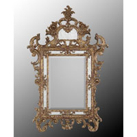 Diverse Profiles/Shapes 46 X 30 inch Gilded Gold Mirror Home Decor