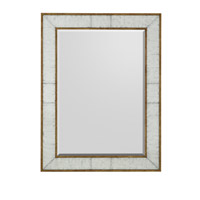 Rectangular 48 X 36 inch Gilded Gold Mirror Home Decor