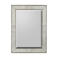 Rectangular 48 X 36 inch Gilded Silver Mirror Home Decor