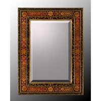 John Richard Rectangle Mirror in Hand-Painted  JRM-0402