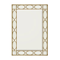 John Richard Rectangular Mirror in Gilded Silver JRM-0422