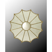 John Richard Round Mirror in Gilded Gold JRM-0424