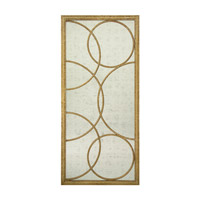 Rectangular 87 X 40 inch Gilded Gold Wall Mirror Home Decor