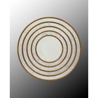 John Richard Round Mirror in Gilded Gold JRM-0431
