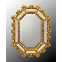 John Richard Diverse Profiles/Shapes Mirror in Gilded Gold JRM-0482