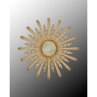 John Richard Round Mirror in Gilded Gold JRM-0497