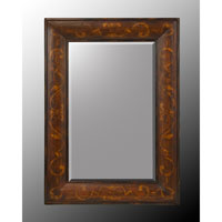 John Richard Rectangular Mirror in Hand-Painted JRM-0500