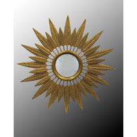 John Richard Round Mirror in Gilded Gold JRM-0505