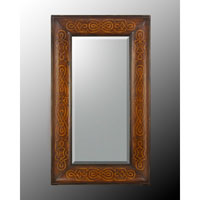 John Richard Rectangular Mirror in Hand-Painted JRM-0532