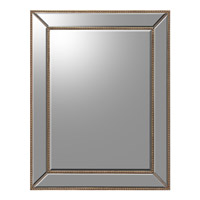 Rectangular 52 X 40 inch Hand-Painted Wall Mirror
