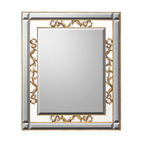 John Richard Rectangular Mirror in Gilded Gold JRM-0582