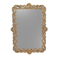 John Richard Rectangular Mirror in Gilded Gold JRM-0609