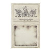 John Richard Florence De Dampierre Rectangle Mirror in Hand-Painted JRM-0625