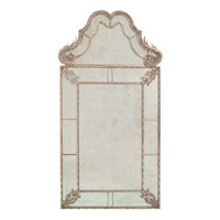 John Richard Rectangle Mirror in Gilded Silver JRM-0630