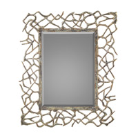 Twigs 54 X 44 inch Aged Silver Gilt Wall Mirror Home Decor