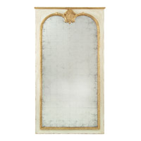 John Richard JRM-0687 Pier 76 X 44 inch Chanterelle and Old Gold Wall Mirror