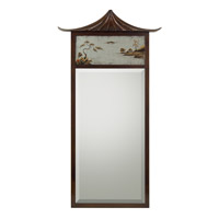 Pagoda 69 X 37 inch Bronze Mirror Home Decor
