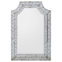 John Richard JRM-0752 Piazza 56 X 38 inch Gilded Silver Wall Mirror