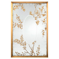 Ryoan 74 X 40 inch Reverse Painted Eglomise Wall Mirror Home Decor