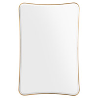 John Richard JRM-0900 Moran 60 X 40 inch Gold Mirror Home Decor