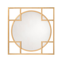 John Richard JRM-0912 Alto 47 X 47 inch Gold Mirror Home Decor