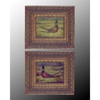 John Richard Animals Set of 2 Wall Decor Oils And Original Art JRO-1264S2