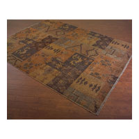 John Richard Rug Decorative Accessory in Indigo Blue JRR-0141