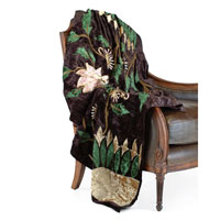 John Richard Throw Decorative Accessory in Floral JRS-01-0307